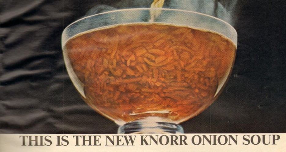 Knorr Golden Onion Soup, 1964