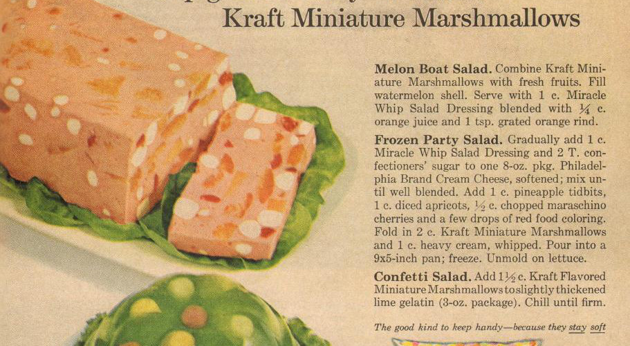 Kraft Miniature Marshmallows, 1964