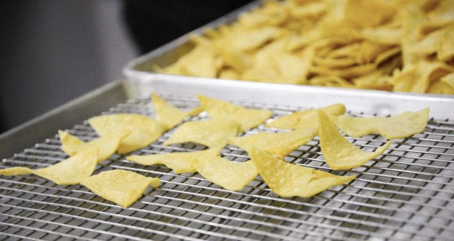 Dieselboy's chips are from La Superior, a well-respected Mexican restaurant in Brooklyn.