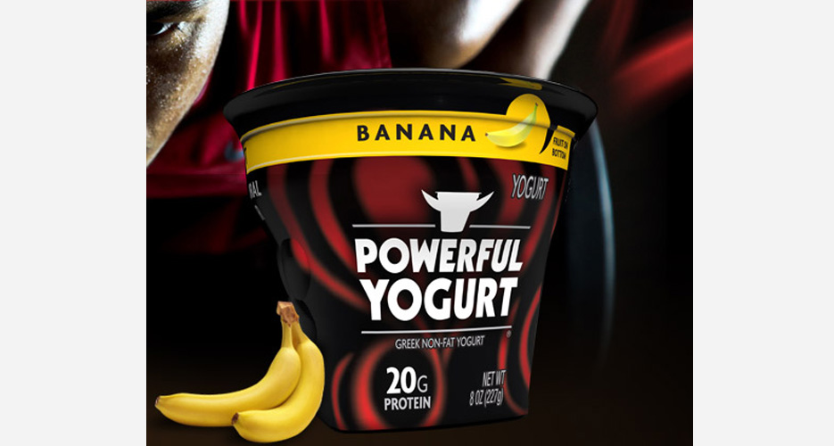 Yogurt with more protein, just like The Situation's vodka! (Photo: Powerful Yogurt)