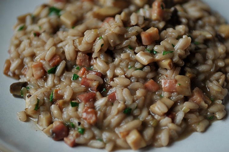 Risotto. It's time to stop being intimidated by risotto. You're just stirring rice for goodness' sake. Turn on some music, revel in the bicep workout, and stop when it's cooked through. Simple as that.