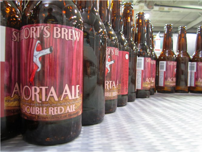 Short's Brewing is all heart. We've seen this label before, but it's looking damn good on the forthcoming 750mL bottles.