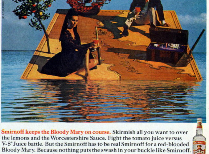 Smirnoff, 1968