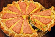 Spam Wagon-Wheel Pie, 1964