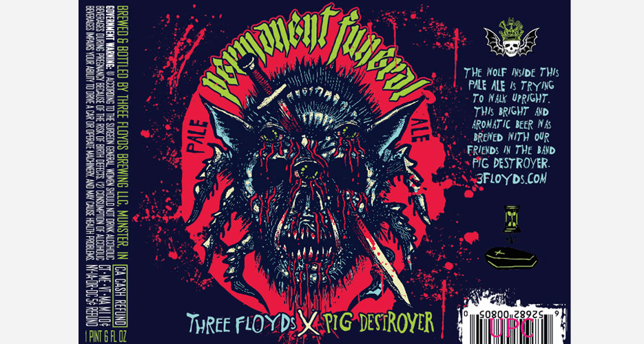 Yet another collabo between 3 Floyds and a heavy-metal band—this time Pig Destroyer.