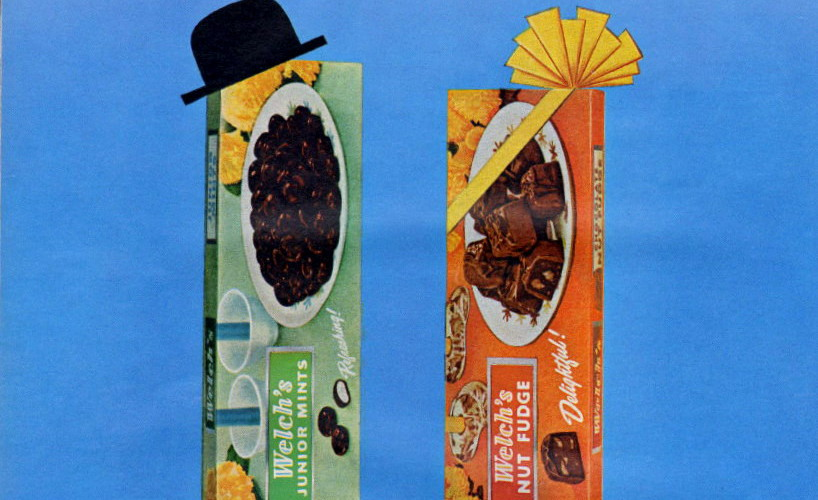 Welch's Candies, 1964