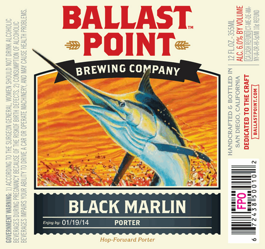 Ballast Point always reps the lesser known ocean creatures.