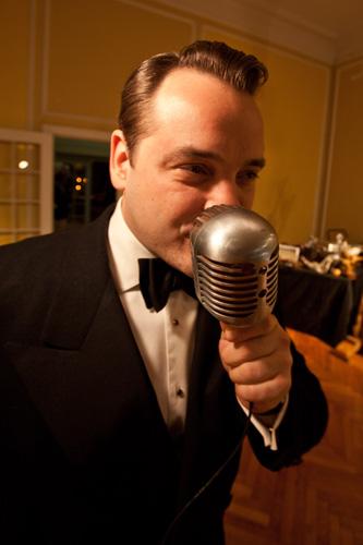 Announcer extraordinaire, Matthew Piazzi.
