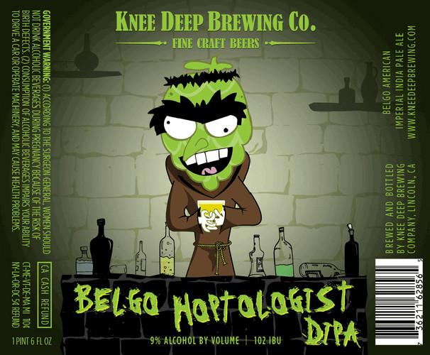 The mad, monkish hops scientist cooks up something crazy in the lab. Points for weirdness.