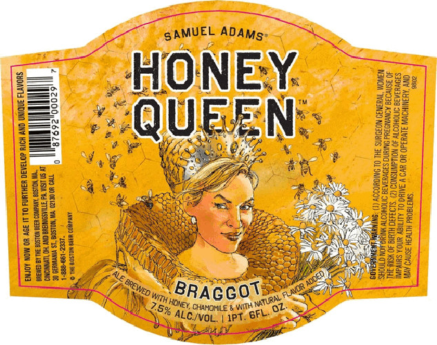 The Honey Queen could give the queen bee Lil' Kim a run for her money.