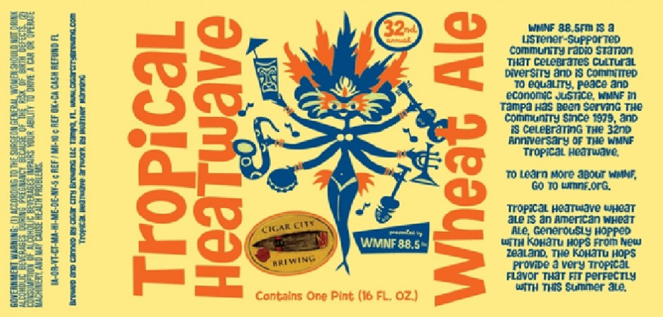 Cigar City's got me ready for spring—though in Florida, they probably feel this way a lot.