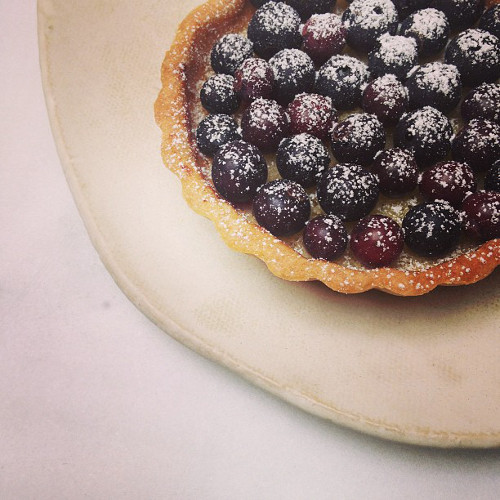 This is the best tart we've seen all week. (Photo: @aafoodstylist)