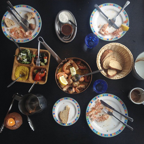 This week, Alice Gao was inspired by Iceland on Instagram. Even these leftovers look pretty inspiring. (Photo: @alice_gao)
