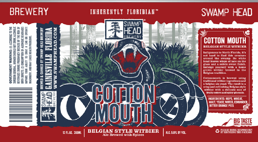 Inherently Floridian is a great way to describe this graphic decision. Pot heads need not get confused. Beer Pulse