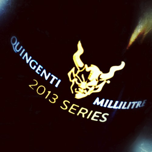 Stone is getting ready to release more of its Quingenti Millilitre series.