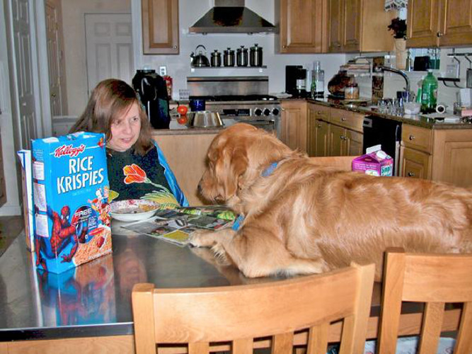 Step away from the cereal and nobody has to get hurt.
