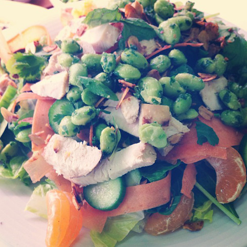 This citrus chicken salad from