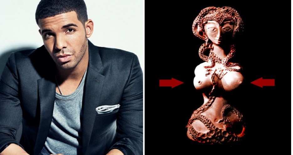 No wonder Drizzy likes Joso's—it's a temple to breasts.