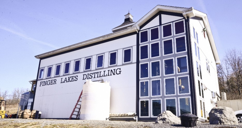 Thomas and Brian say they were inspired by the aesthetics and layout of traditional Scottish distilleries.