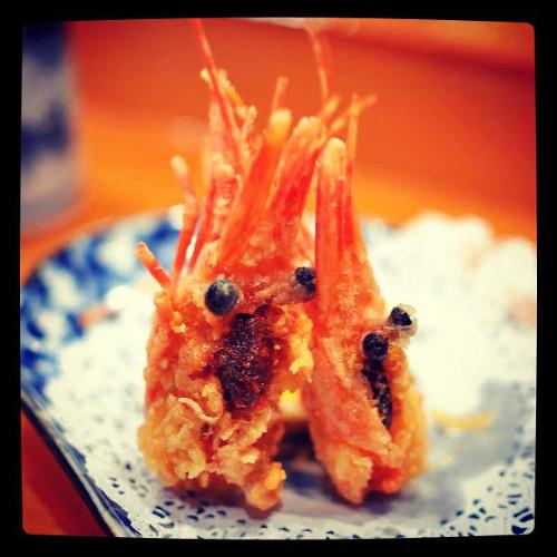 These shrimps are doing a rain dance! (Photo: @gastronomyblog)