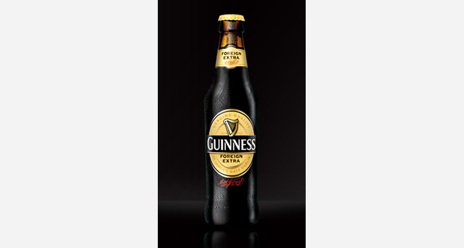Guinness Foreign Extra Stout. In 2010, Guinness got beer nerds to pay attention again by re-releasing this heftier, export-strength edition in the U.S. for the first time since Prohibition. Think of it as Guinness on steroids, with a thicker body, more intense roasted malts, and additional hops (originally used to keep the beer from spoiling on long voyages). Bonus: If you want to be really bro about things, it will get you drunker. (Photo: Guinness)
