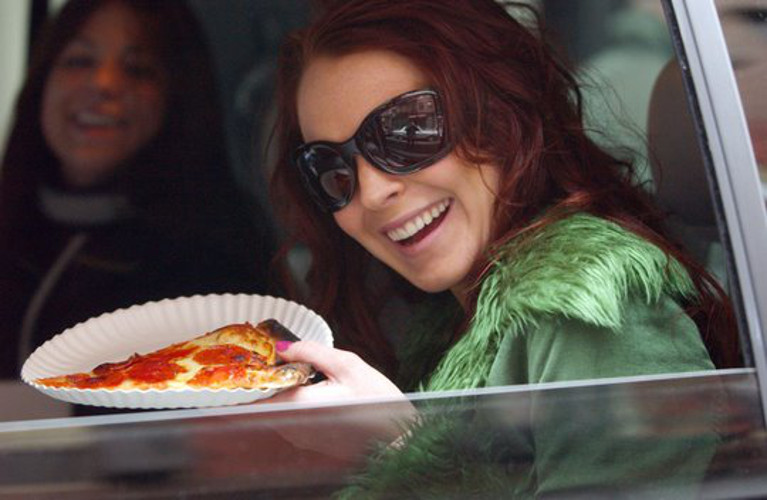 Eat This Tumblr: Famous People Eating Pizza | First We Feast