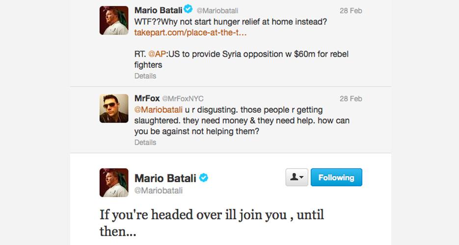 King Batali has no time for your slacktivism.