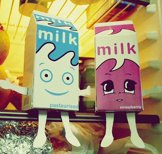 Let's be honest - as cute as those milks are, they're probably expired.
