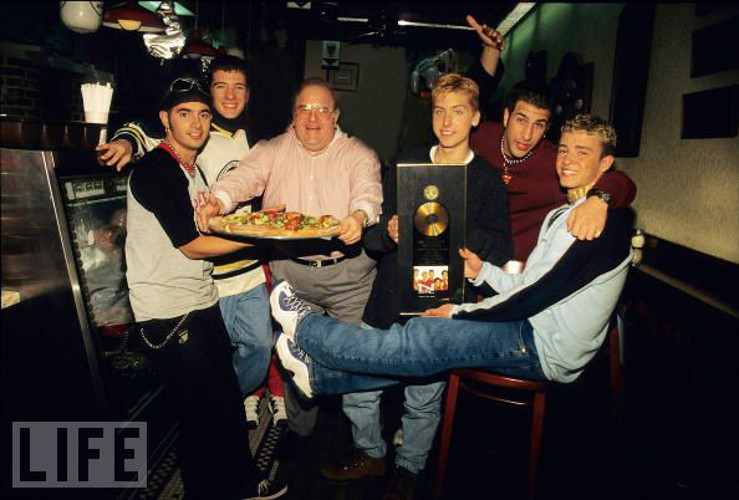 Why It's Awesome: This #vintagepizza pic is awesome for many reasons, not least that Justin Timberlake is an 11 year old.