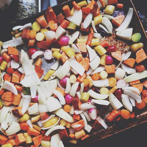 Now that's how you roast root vegetables. (Photo: