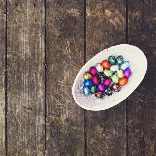 @taraobrady finishing strong with some chocolatey eggs.
