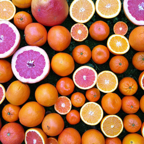 If all this citrus doesn't say spring, we don't know what does. (Photo: @theforestfeast)