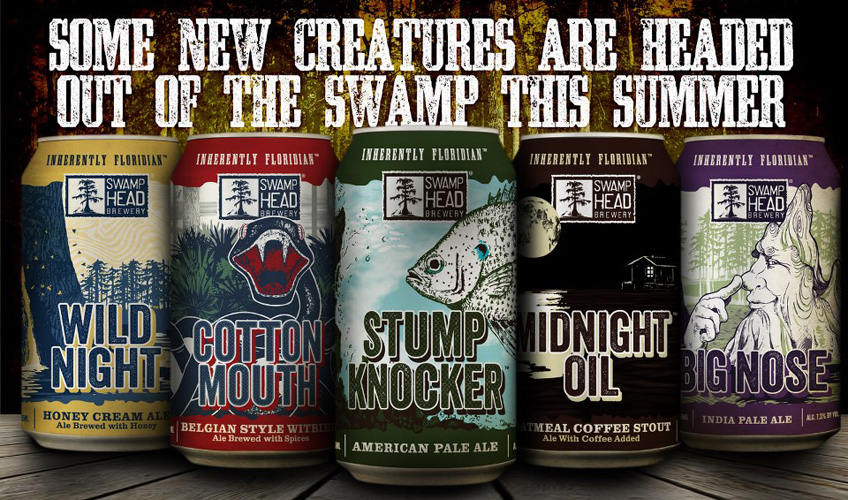 These new Swamphead cans are boss.