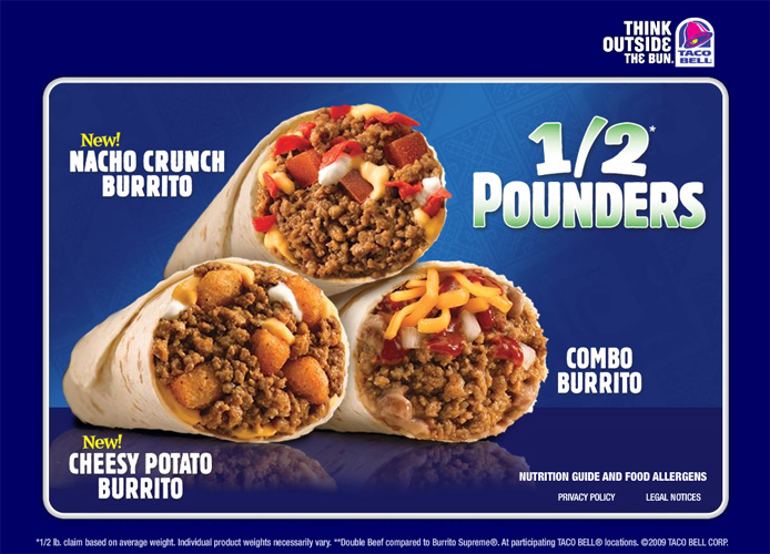 Mashup burritos have been a successful marketing move.