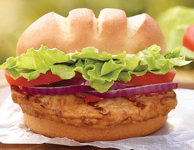 Burger King Turkey Burger (source)