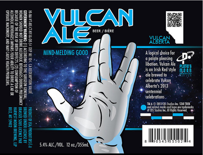 Could anything be dorkier than a craft beer for Star Trek fans? Gotta love it.