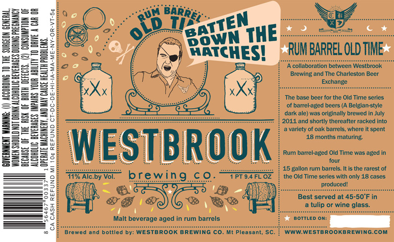 Been loving Westbrook brews—and the bottle art—since going to Charleston last year.