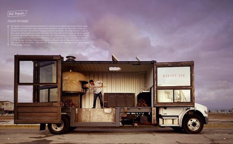 Del Popolo, a mobile pizzeria in the Bay area.