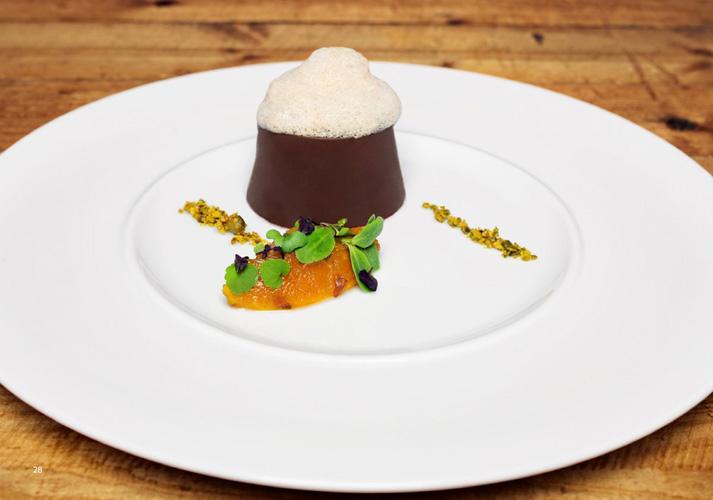 Morning Glory Chocoland (A Raspberry-Marijuana Bombe Coated in Hashish Chocolate with Morning Glory and Magic Truffles)