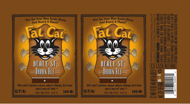 "Fat Cat has been putting ""sessionable"" brews in cans since '94. This is the brewery's first brown ale and the label pays homage to the cartoon bosses we were watching 20 years ago. Source: Beer Pulse"