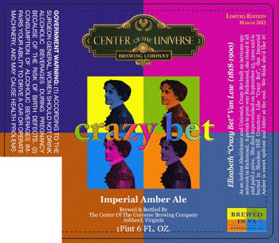 "Abolitionist ""Crazy Bet"" gets the Warhol treatment. Source: Beer Pulse"