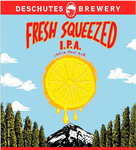 "This ""citrus bomb"" is now available in bottles--and for the first time outside Dechutes' Bend, OR brewery. All praise the gods of summer! Source: Beer Pulse"
