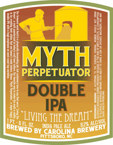 "Not sure what myths are being perpetuated here, but we ain't mad at anyone who is ""living the dream."" Source: Beer Pulse"