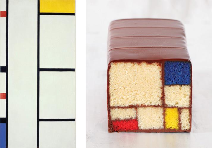 Art 2013 Mondrian/Holtzman Trust c/o HCR International USA/Dessert Clay McLachlan (via NPR)