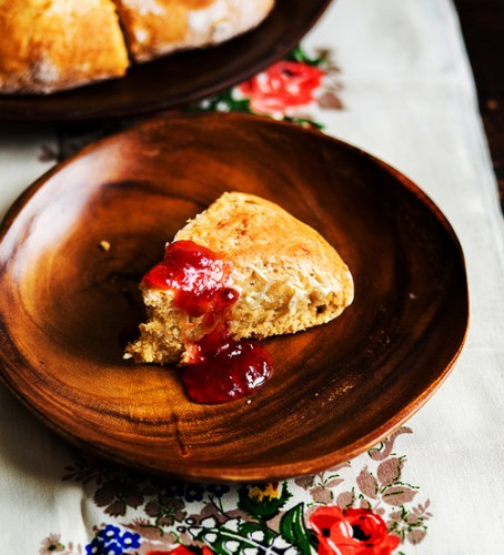 For some reason it seems like no scone in real life could taste better than this photo of a coconut scone.