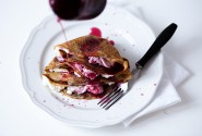 Do you have a recipe for coffee crepes with ricotta and cherry syrup? No? That's why this blog is awesome.