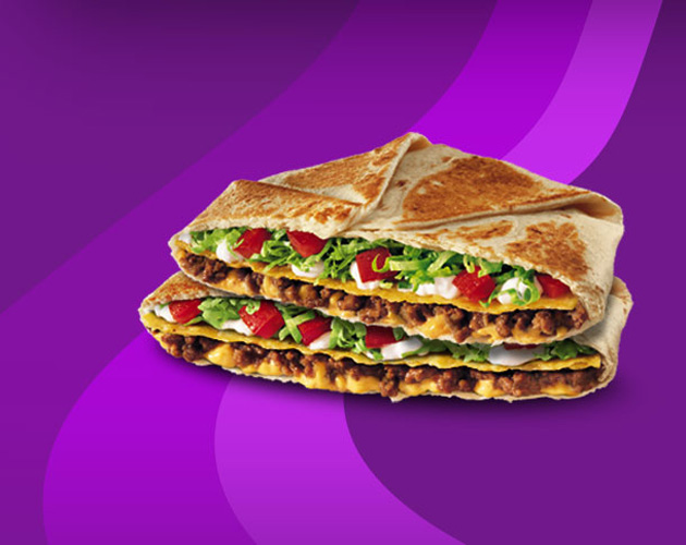 """The CrunchWrap Supreme was almost the """"Origami Tostada"""""""