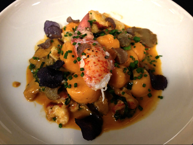 @dhmeyer reminds us that our pupils are starving for this lobster gnocchi with wild mushrooms and broccoli rabe.