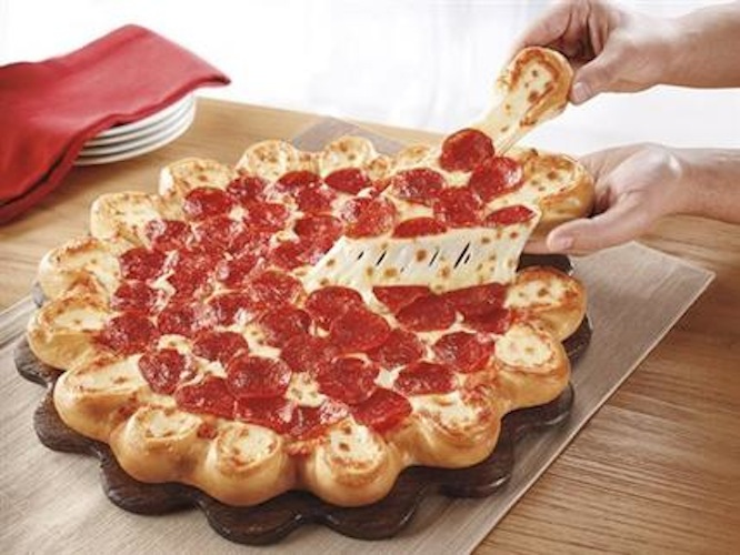Pizza Hut-Cheesy Crust