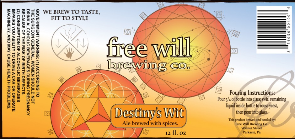 Exercise your free will and drink better beer.